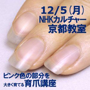 育爪講座 NHKカルチャー京都教室 2016/12/5