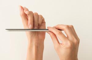 自分で爪を育てる・仕事に生かすのイメージ