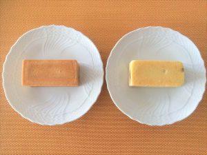 左:サニーヒルズ、右:ホテルオークラ