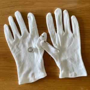 手袋カスタミ~ング♪